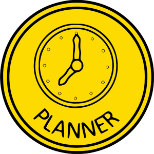 Planner Personality Style icon